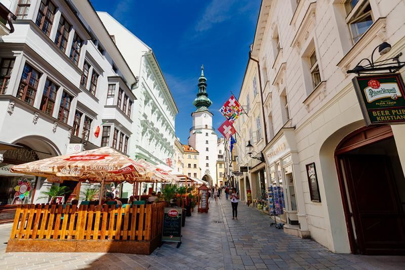 Day trip Bratislava by bus from Vienna - return by boat