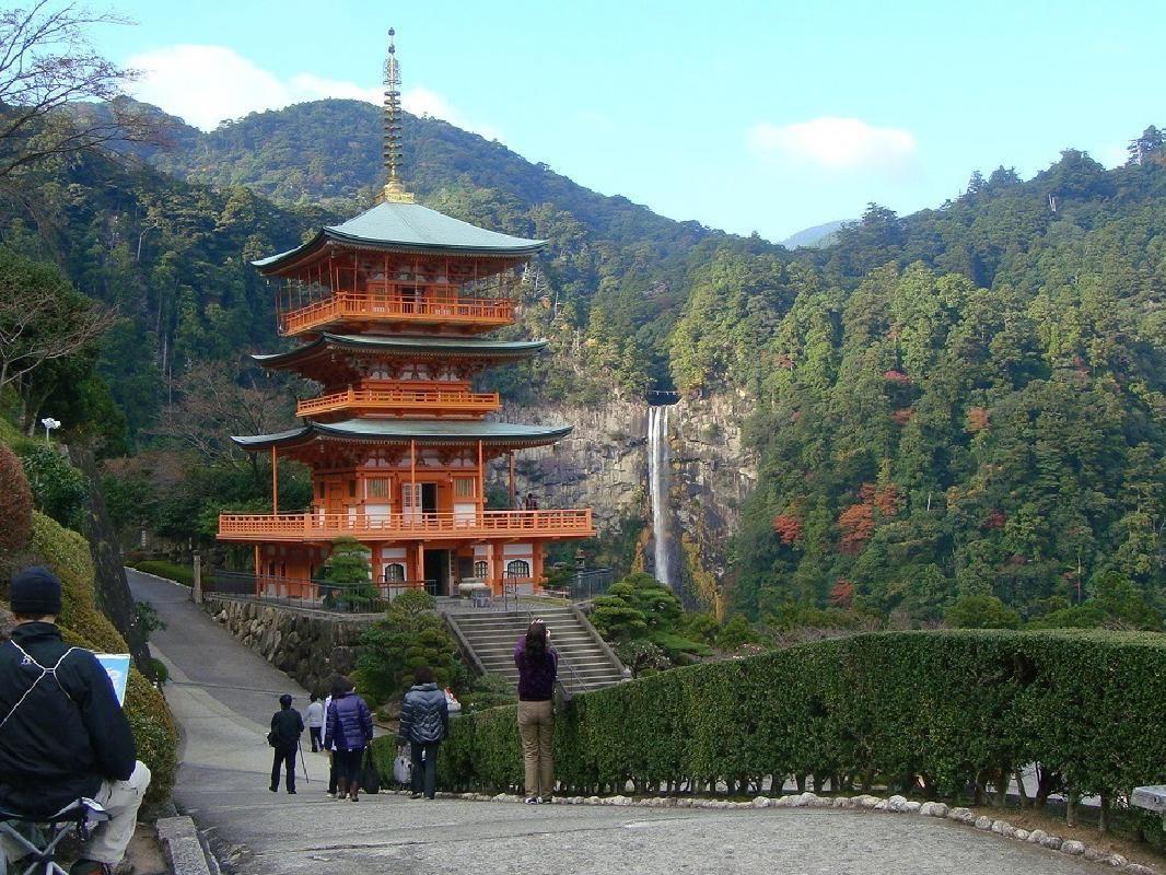 Full-Day Private Sightseeing Taxi Tour to Nachikatsuura Area