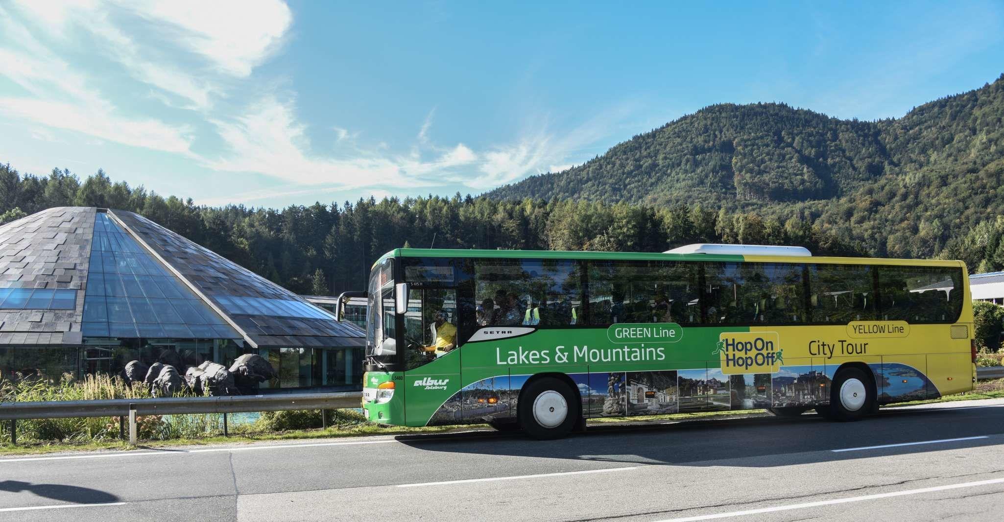 Salzkammergut Region: Hop-on and Hop-off Bus Tour