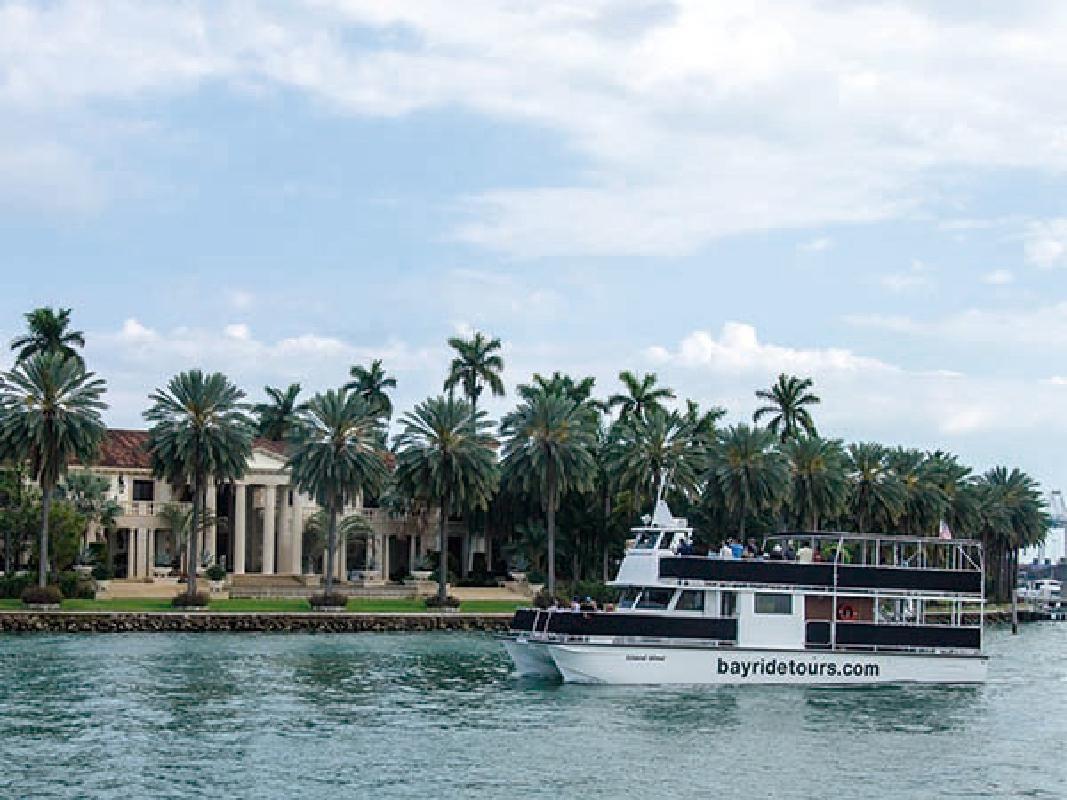 48-Hour Hop-on Hop-off Double Decker Bus & Biscayne Boat Tour Combo