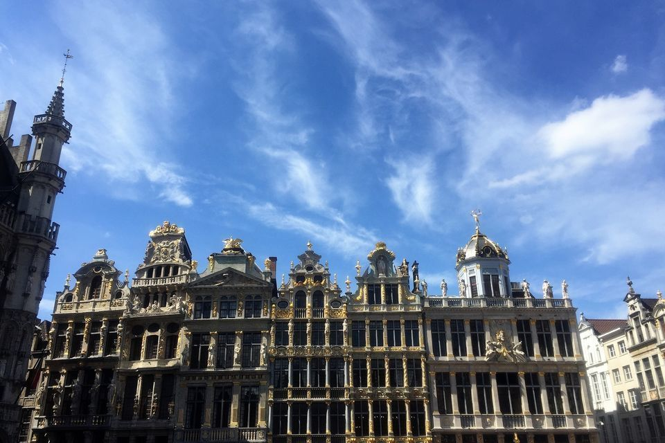 Brussels: Express Tour with Lunch