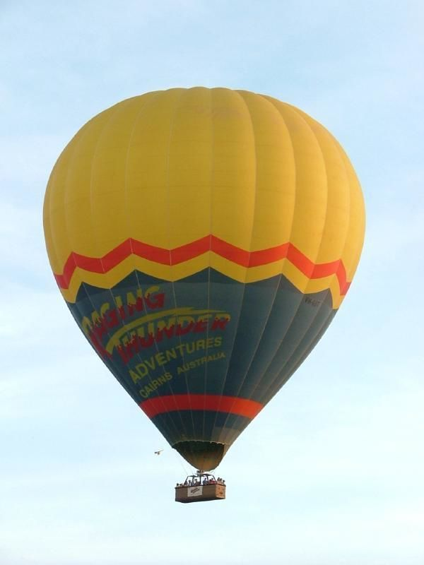 Cairns Hot Air Balloon Ride and Barron River Rafting Adventure with Transfers