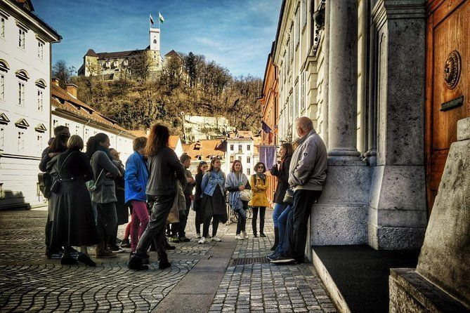 Classic Ljubljana Walking Tour with an Urban Twist (small group)