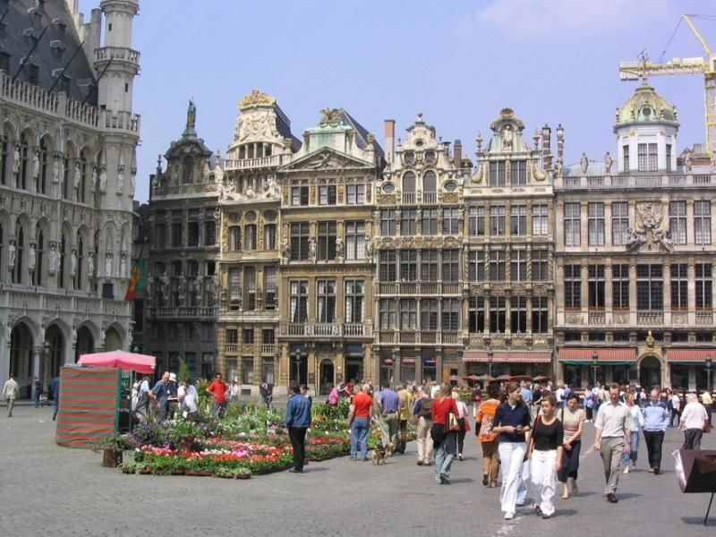 City tour of Brussels, capital of Europe