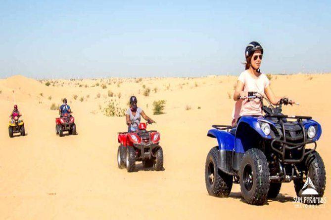 Group Tour to Morning Quad Bike Desert Safari in Egypt