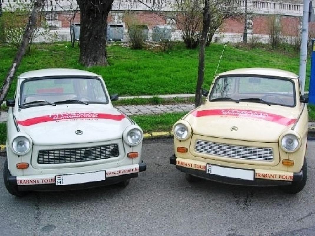 Original Trabant Private City Tour in Budapest