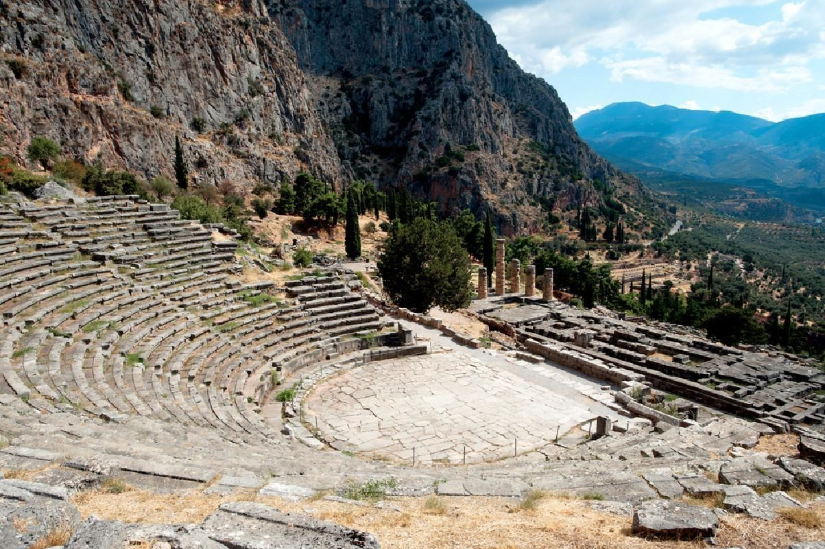 Delphi Full Day Tour from Athens with Pick-up and Lunch