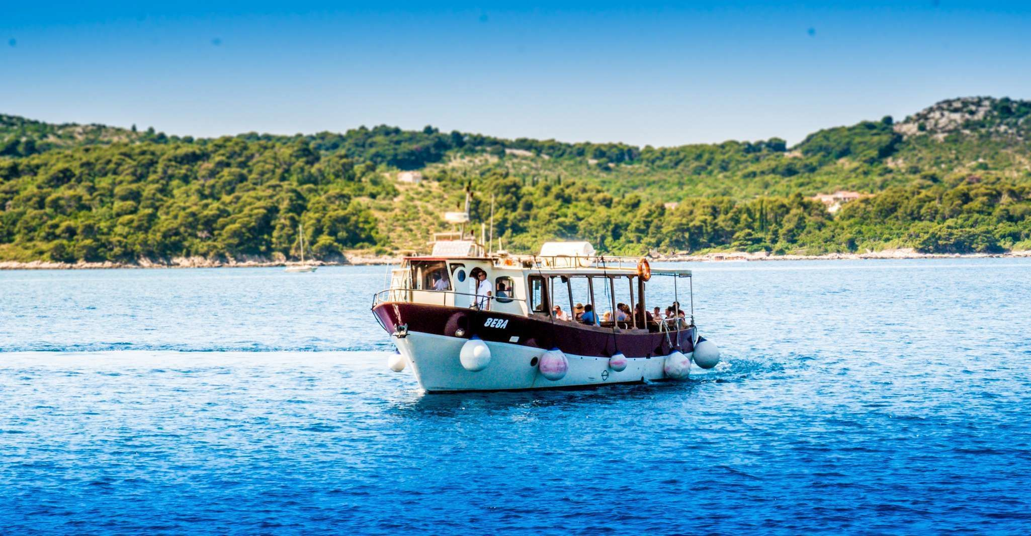 From Dubrovnik: Full Day Elaphite Islands Tour incl. Lunch