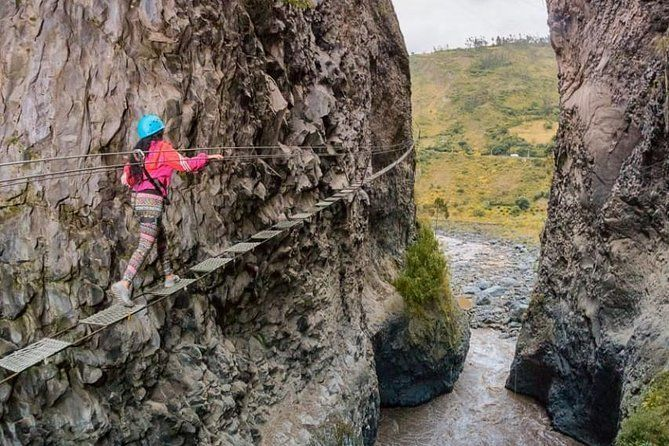 Canopy, Tibetan Bridge, Via Ferrata And Tarabita 4 In 1 - In One Day