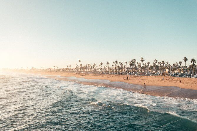 Full Day Guided Tour of Santa Monica and Venice Beach with Surf Lesson