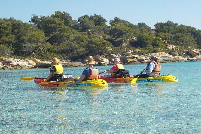 Vourvourou Blue Coves Kayak Trip