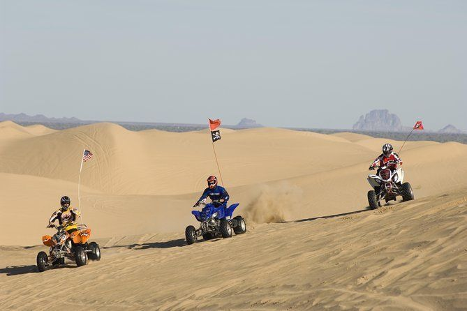 Hurghada Desert Safari - Sunset ATV Trip with Camel Ride and BBQ Meal