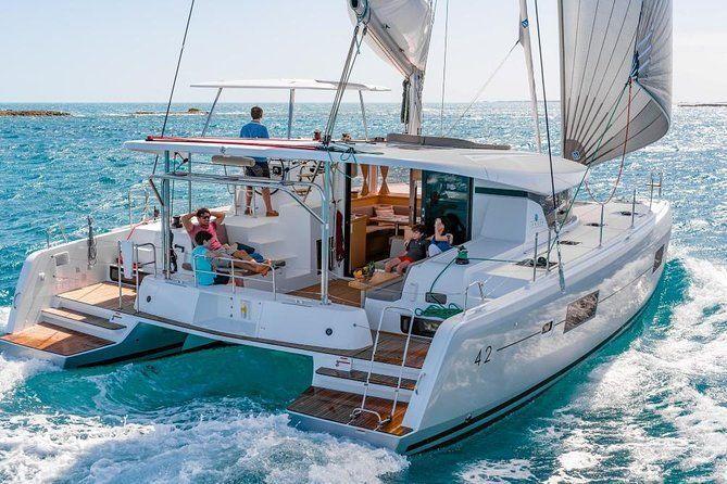 Santorini Caldera Cruise Including Full Greek Meal and Drinks