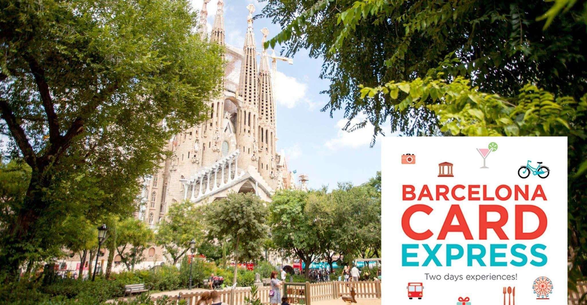 Barcelona Express Card: 2 Days of Transport & Discounts