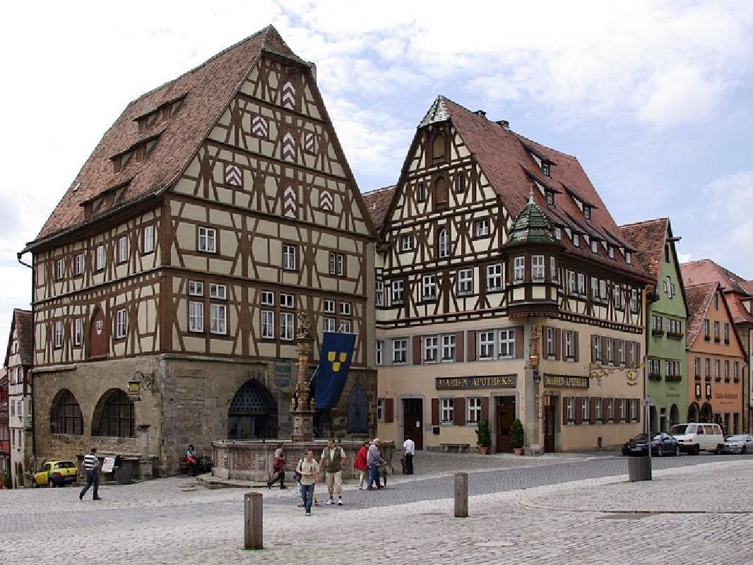 Rothenburg ob der Tauber on the Romantic Road Private Tour from Munich