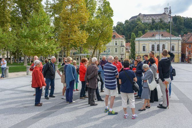 Ljubljana's Attractions and Art Walking Tour