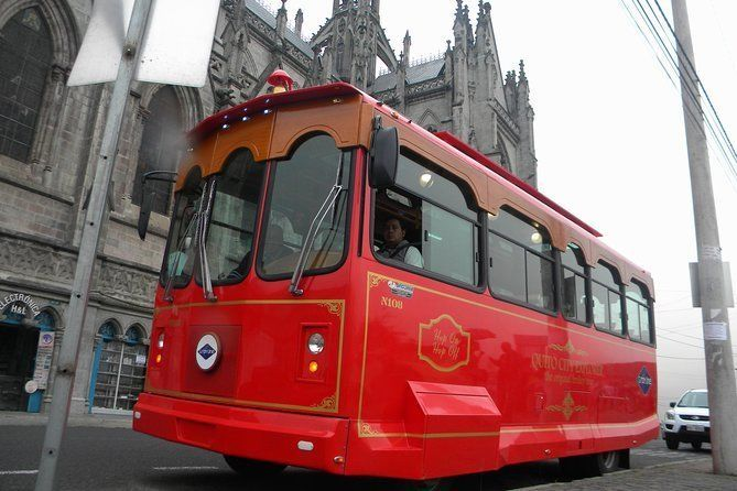 "The Original Quito City Tour in Trolley with Hotel Pick-up - ""Small Group"""