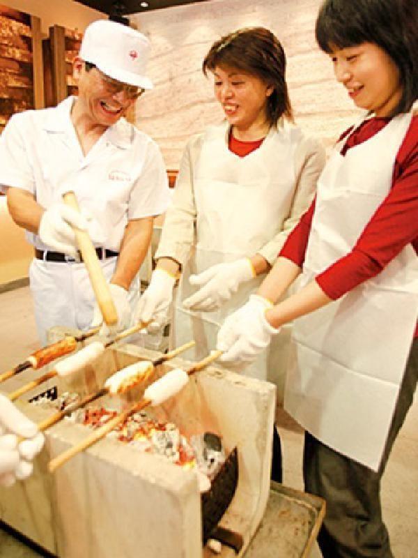 Chikuwa (Fish Paste Roll) Making Experience in Tokokawa