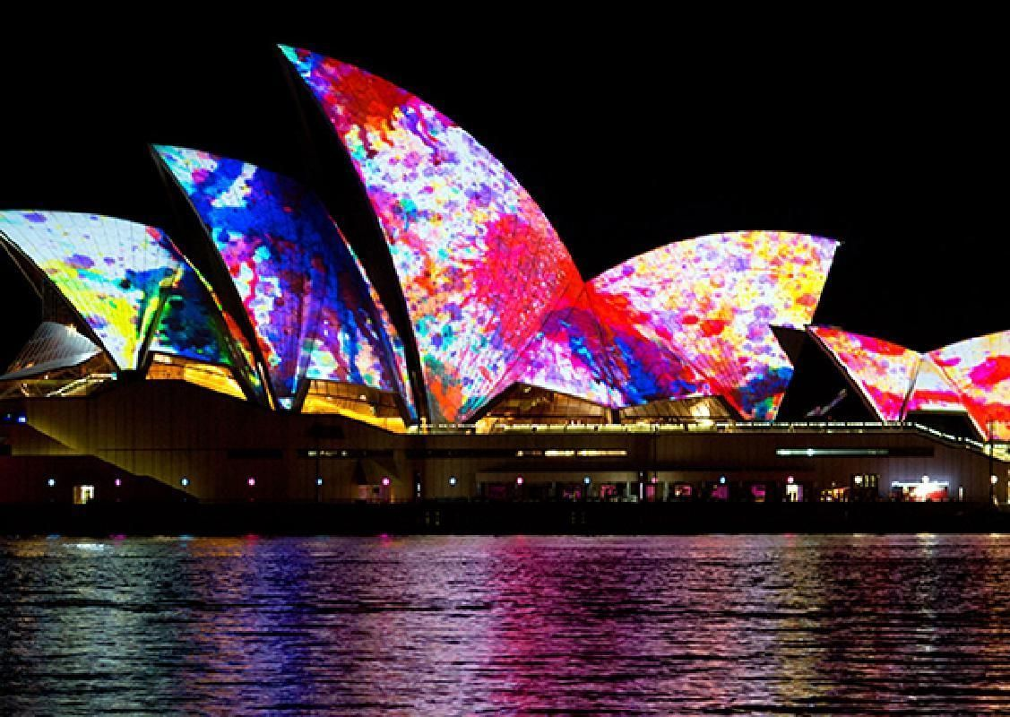 Vivid Sydney Tall Ship Dinner Cruise on Sydney Harbour (May 22 to June 13, 2020)