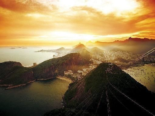 Sunset at Sugar Loaf by Hiking