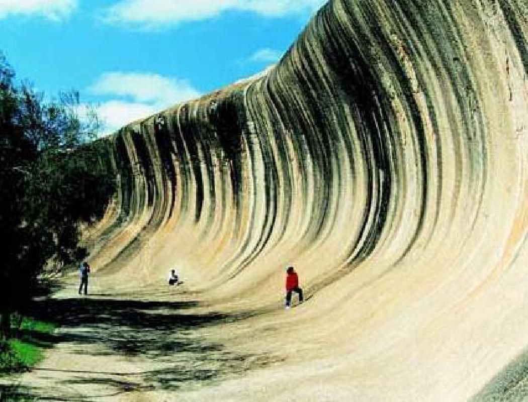 Half Day Wave Rock Tour with Flight from Perth