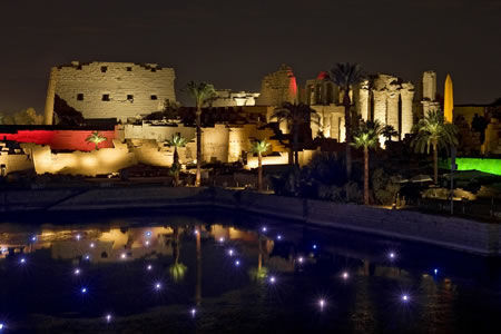Luxor: Tickets for Sound and Light Show in Karnak Temple