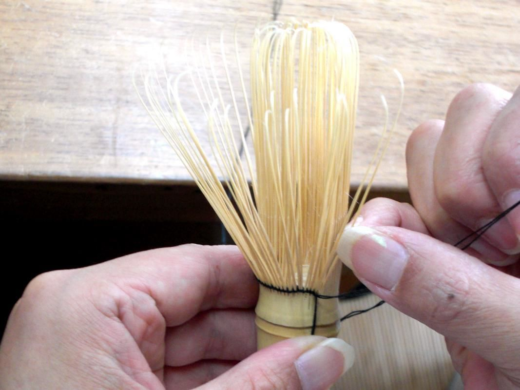 Bamboo Chasen (Tea Whisk) Making Experience in Nara