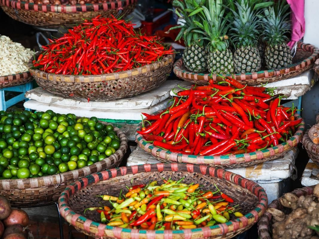 Hanoi Authentic Market Hopping Tour with English-Speaking Guide