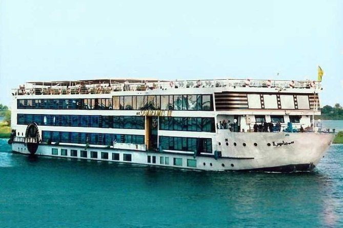 4 Days Nile Cruise Luxor, Aswan, Abu Simbel with Train Tickets from Cairo