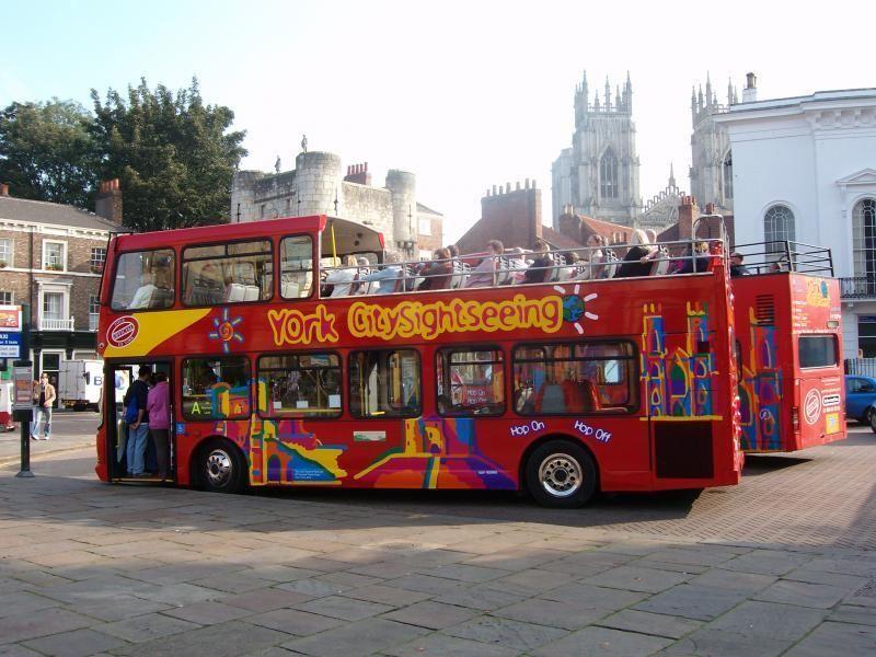 City Tour York Hop-on/Hop-Off Tour - 24h Ticket