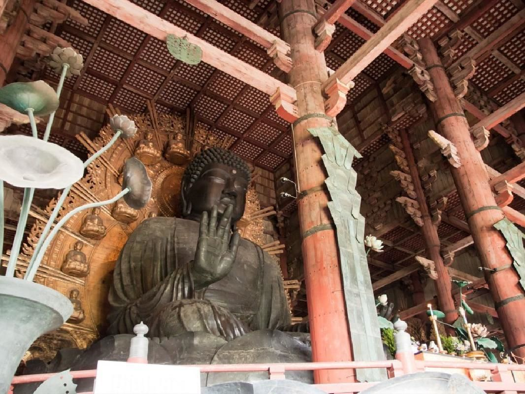 Private Guided One Day Walking Tour of Historical Nara