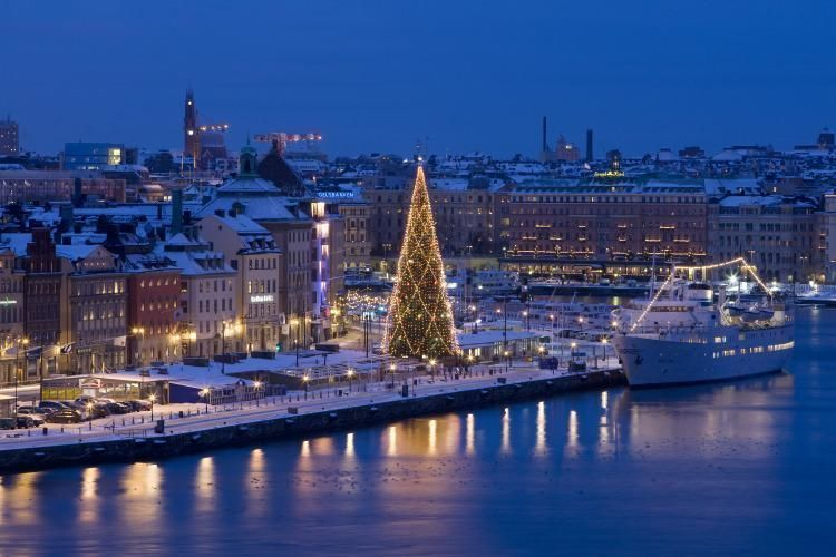 Panoramic tour of Stockholm and walk through the old town
