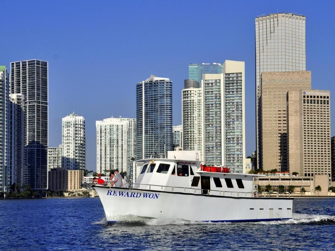 Sport Fishing in Miami from South Beach