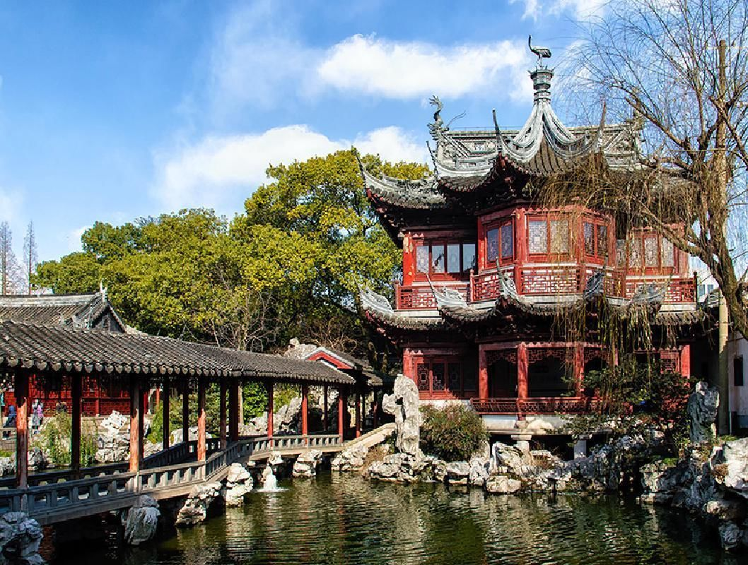Shanghai City Highlights Private Afternoon Tour with Yuyuan Garden Visit