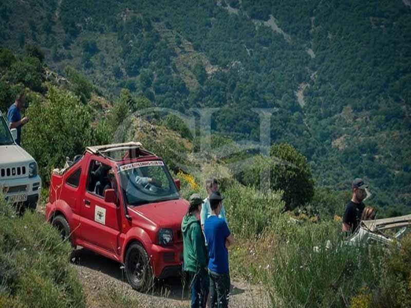 Crete: Jeep safari to the palm beach of Preveli