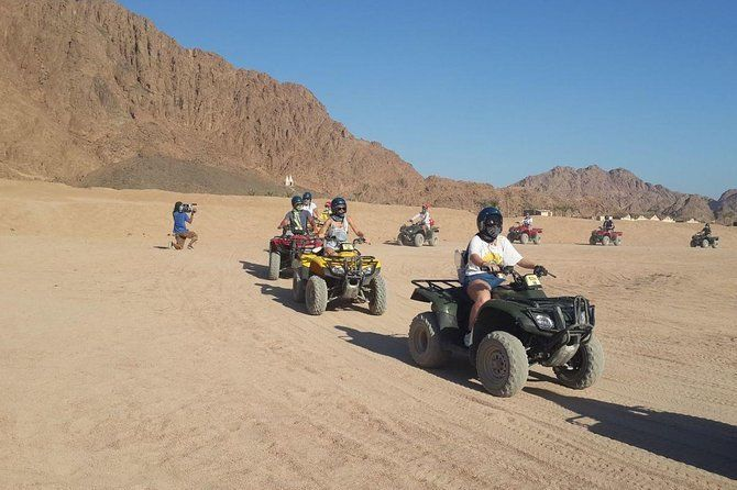 Best of Sharm El Sheikh Excursions: Quad Biking, Camel Ride, and Bedouin Dinner