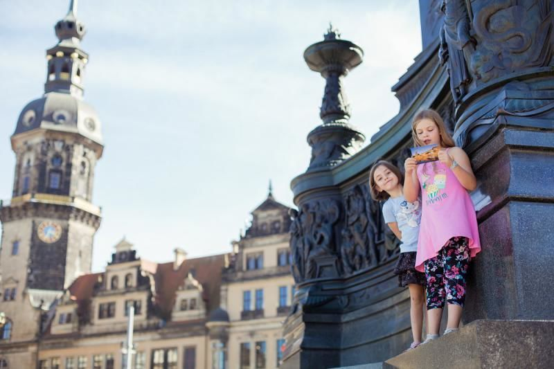 Treasure hunt through Dresden's old town