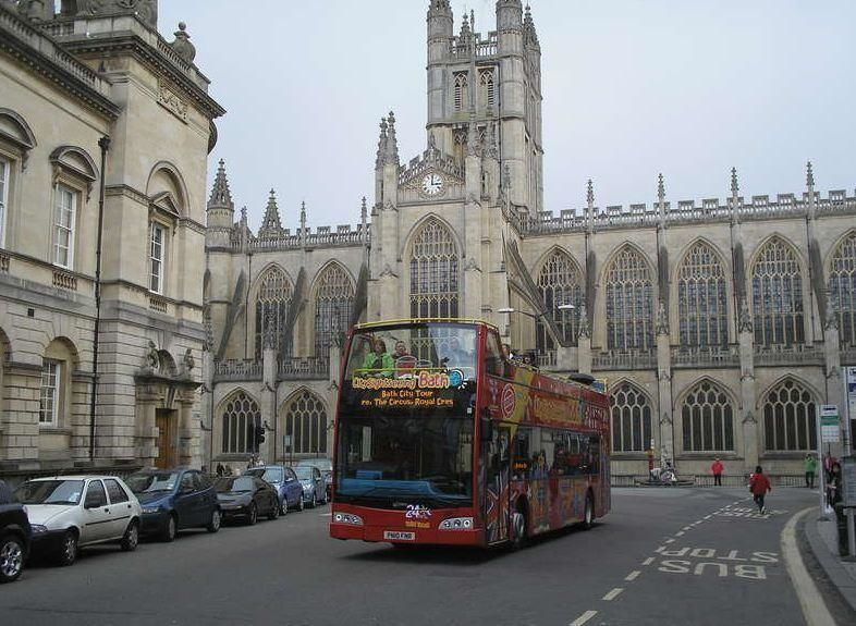 24h-ticket Hop-on/Hop-off City Tour Bath
