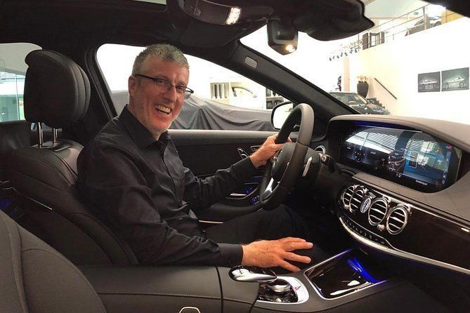 On tour with a friend and his Mercedes S-Class - true first-class service