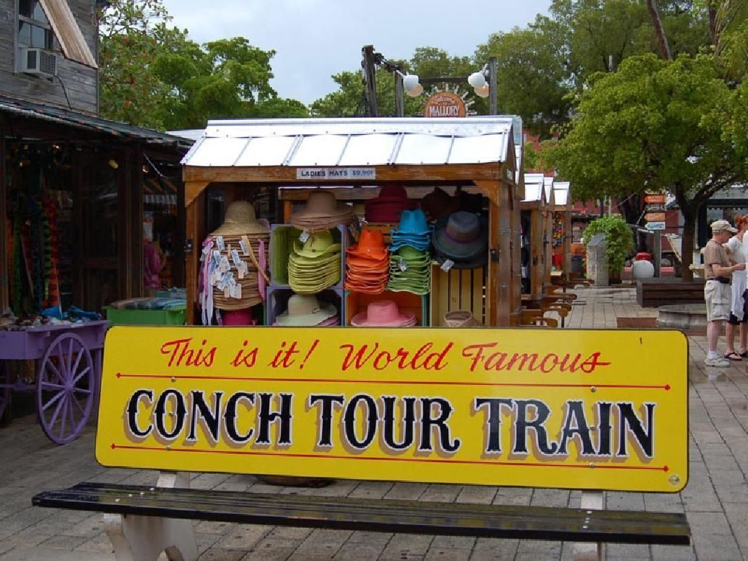Key West Full Day and Conch Train Tour from Miami