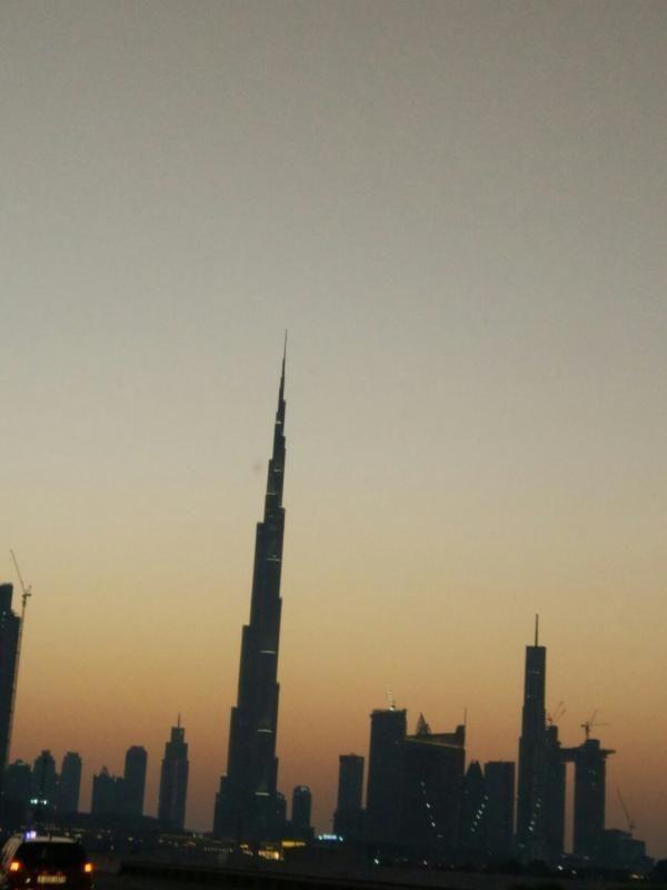 Cocktail night in the noble Burj Khalifa Lounge