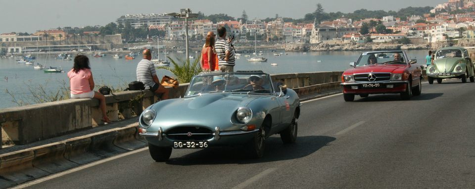 Sintra or Cascais and Estoril in a Classic Car
