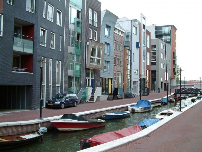 Walking tour Amsterdam - Eastern harbour area