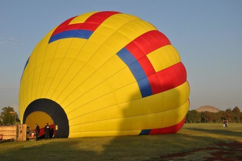 Discover Aztec Heritage from a Hot Air Balloon