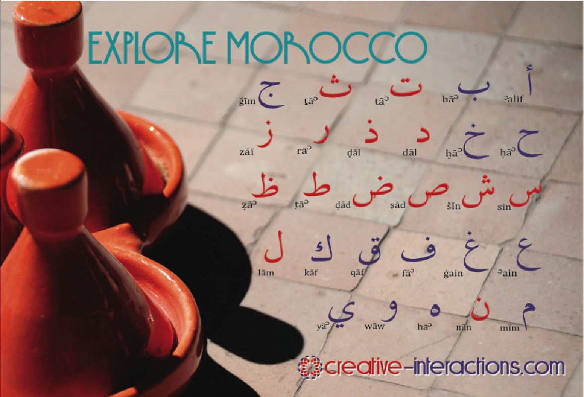 3-Hour Interactive Moroccan Culture and Arabic Language Workshop in Marrakech