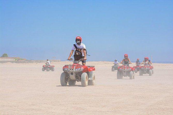 Private Tour: 6-Hour Quad Bike Safari Trip to Sahara with Dinner, Show, and Star-Gazing