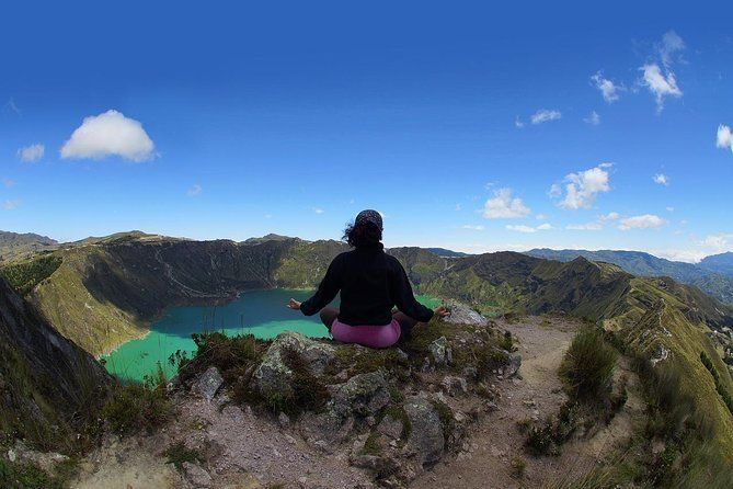 Quilotoa Lagoon,Volcanoes Avenue, Local People Full-Day Tour from Quito