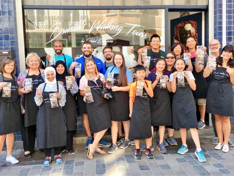 Chocolate workshop and tasting in Brussels