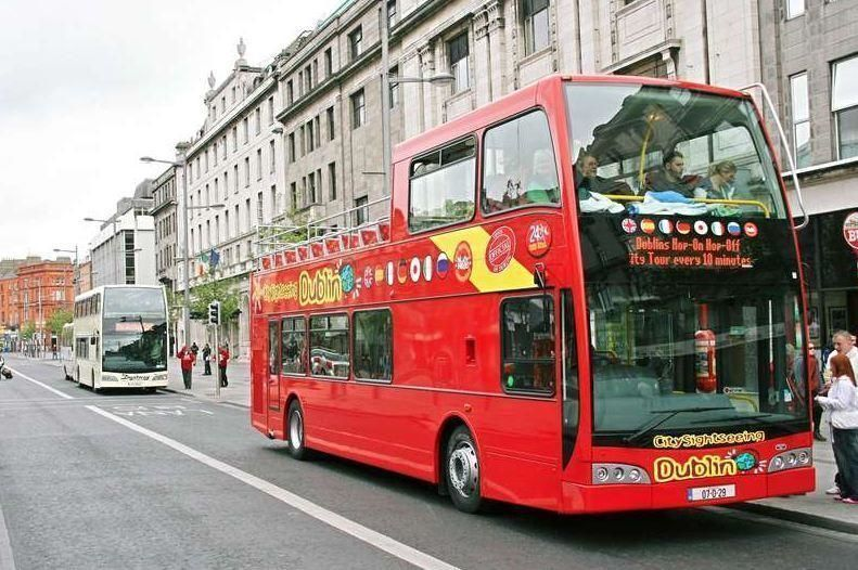 Dublin City Sightseeing Tour Hop-On/Hop-Off – 48h ticket