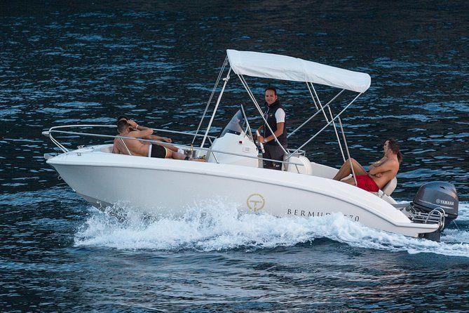 Capri Tour from Sorrento - 18ft Smart boat